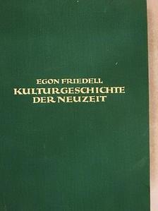 Egon Friedell - Kulturgeschichte der neuzeit 1. [antikvár]