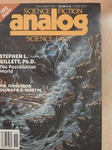 Ben Bova - Analog November 1985 [antikvár]