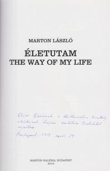 Márton László - Életutam / The Way of my Life (dedikált) [antikvár]