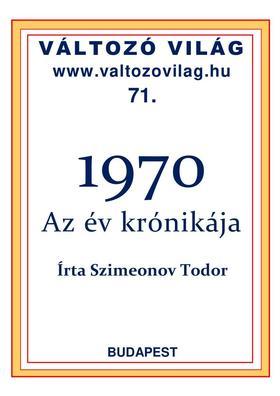 Szimeonov Todor - 1970