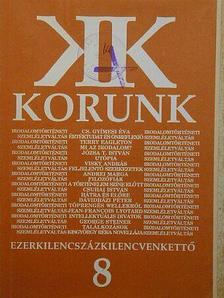 Berszán István - Korunk 1992. augusztus [antikvár]