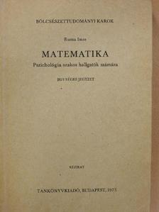 Ruzsa Imre - Matematika [antikvár]