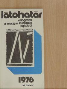 Deák Ferenc - Látóhatár 1976. október [antikvár]