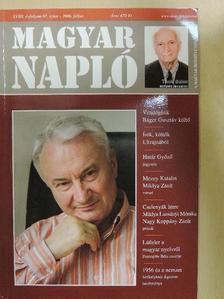 Alföldy Jenő - Magyar Napló 2006. július [antikvár]