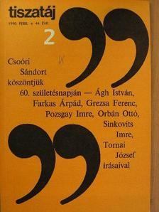 Ablonczy László - Tiszatáj 1990. február [antikvár]
