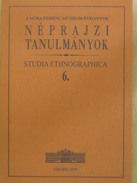 Banner János - Néprajzi tanulmányok 6. [antikvár]