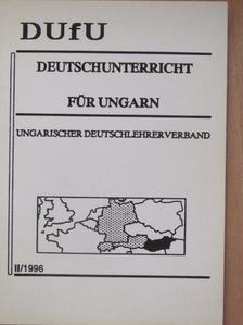 Ágel Vilmos - Deutschunterricht für Ungarn II/1996 [antikvár]