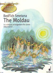SMETANA - THE MOLDAU IN A SIMPLE ARRANGEMENT FOR PIANO (HEUMANN)