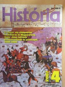 Hegyi Klára - História 2007/4. [antikvár]