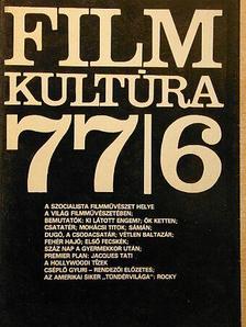 Alexa Károly - Filmkultúra 1977. november-december [antikvár]