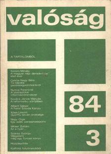 Valóság 1984-3 [antikvár]