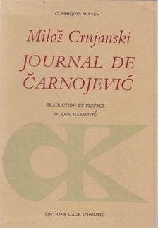 Milos Crnjanski - Journal de Carnojevic [antikvár]