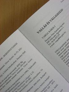 Balla Bálint - Társadalomkutatás 2001/1-2. [antikvár]