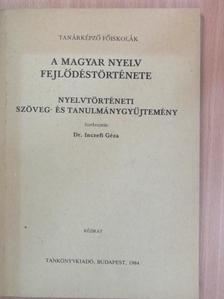 Bárczi Géza - A magyar nyelv fejlődéstörténete [antikvár]