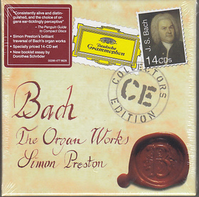 Bach - THE ORGAN WORKS 14CD SIMON PRESTON