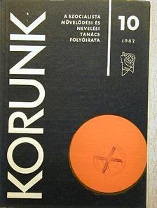 Aniszi Kálmán - Korunk 1987. október [antikvár]
