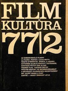 Almási Miklós - Filmkultúra 1977. március-április  [antikvár]