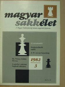 Bottlik Iván - Magyar Sakkélet 1982/3. [antikvár]