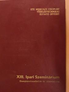 Bianki Péter - XIII. Ipari Szeminárium [antikvár]