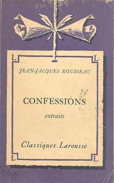 ROUSSEAU, JEAN-JACQUES - Confessions [antikvár]