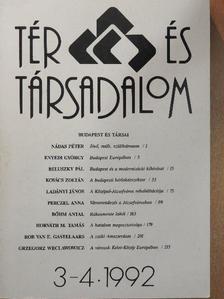 Bőhm Antal - Tér és Társadalom 1992/3-4. [antikvár]