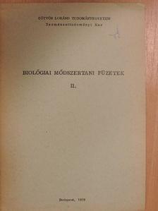 Dr. Vajda Ernő - Biológiai módszertani füzetek II. [antikvár]