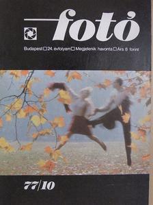 Botta Dénes - Fotó 1977. október [antikvár]
