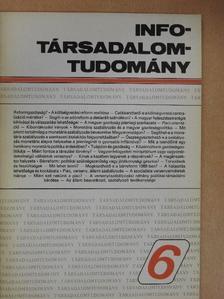 Erdős Tibor - Info-Társadalomtudomány 1988. szeptember [antikvár]