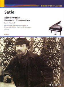 SATIE - KLAVIERWERKE BAND 3 (WILHELM OHMEN)