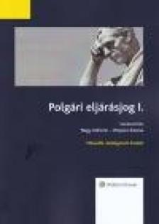 Polgári eljárásjog I., második kiadás