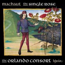 MACHAUT - THE SINGLE ROSE CD THE ORLANDO CONSORT