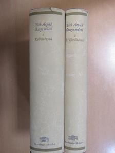 Johann Wolfgang Goethe - Tóth Árpád összes művei 1-2. [antikvár]