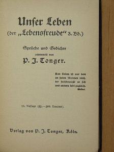 """Byron - Unser Leben (der """"Lebensfreude"""" 3. Bd.) (Gótbetűs) [antikvár]"""