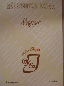 Bárdos József - Módszertani Lapok - Magyar 2000. szeptember [antikvár]
