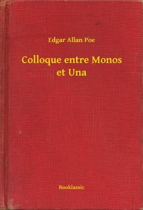 Edgar Allan Poe - Colloque entre Monos et Una [eKönyv: epub, mobi]