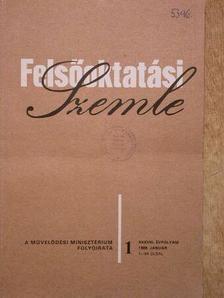 Dr. Kovács Győzőné - Felsőoktatási Szemle 1989. január-december [antikvár]