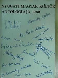 András Sándor - Nyugati magyar költők antológiája 1980 [antikvár]