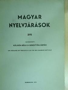 A. Kövesi Magda - Magyar nyelvjárások XVII. [antikvár]