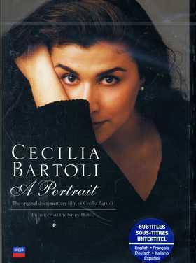 A PORTRAIT - CECILIA BARTOLI DVD
