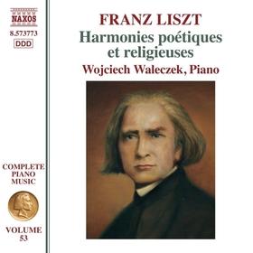LISZT - HARMONIES POÉTIQUES CD WALECZEK