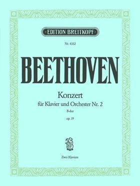 BEETHOVEN - KONZERT FÜR KLAVIER UND ORCHESTER NR.2 B-DUR OP.19, ZWEI KLAVIERE