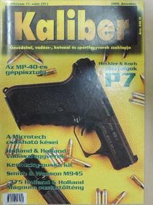 Glicza Csaba - Kaliber 2000. december [antikvár]
