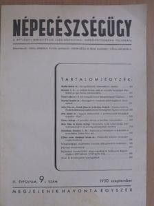 Dr. Adler Péter - Népegészségügy 1950. szeptember [antikvár]