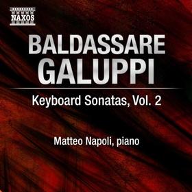 GALUPPI - KEYBOARD SONATAS 2. CD NAPOLI
