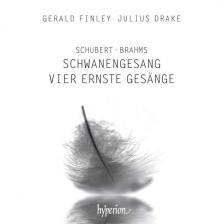 SCHUBERT, BRAHMS - SCHWANENGESANG CD FINLEY