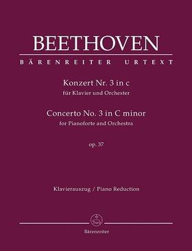 BEETHOVEN - KONZERT FÜR KLAVIER UND ORCHESTER NR.3 c-MOLL OP.37, KLAVIERAUSZUG