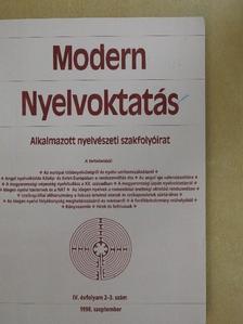Budai László - Modern nyelvoktatás 1998/2-3. [antikvár]