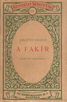 Lakatos László - A fakír [antikvár]