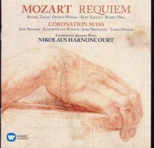 MOZART - REQUIEM/CORONATION MASS CD HARNONCOURT