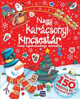 Nagy karácsonyi kincsestár - Ünnepi foglalkoztatókönyv matricákkal